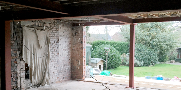 Structural Steel Installation by K Phillips Building & Maintenance